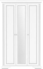 Спальни Вайт Шкаф платяной 3d2s c зеркалом